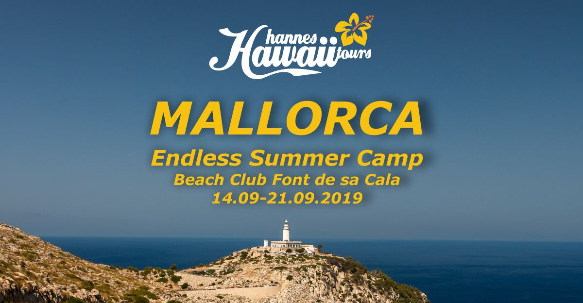 ENDLESS SUMMER CAMP, Mallorca 14-21.09.2019